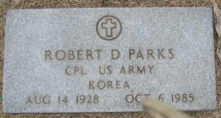 PARKS (VETERAN KOR), ROBERT D - Mississippi County, Arkansas | ROBERT D PARKS (VETERAN KOR) - Arkansas Gravestone Photos