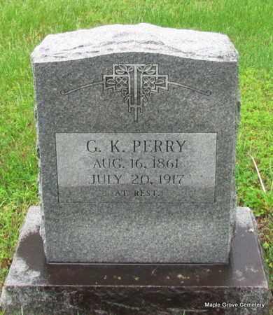 PERRY, G K - Mississippi County, Arkansas | G K PERRY - Arkansas Gravestone Photos