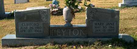 PEYTON, MARY JANE - Mississippi County, Arkansas | MARY JANE PEYTON - Arkansas Gravestone Photos