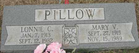 PILLOW, MARY V - Mississippi County, Arkansas   MARY V PILLOW - Arkansas Gravestone Photos