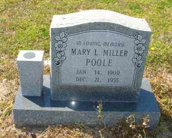 MILLER POOLE, MARY L - Mississippi County, Arkansas | MARY L MILLER POOLE - Arkansas Gravestone Photos