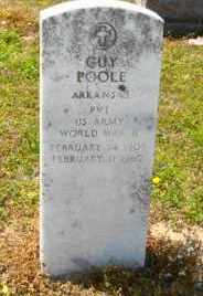 POOLE (VETERAN WWII), GUY - Mississippi County, Arkansas | GUY POOLE (VETERAN WWII) - Arkansas Gravestone Photos