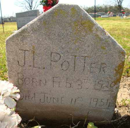 POTTER, J L - Mississippi County, Arkansas | J L POTTER - Arkansas Gravestone Photos