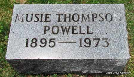 THOMPSON POWELL, MUSIE - Mississippi County, Arkansas | MUSIE THOMPSON POWELL - Arkansas Gravestone Photos