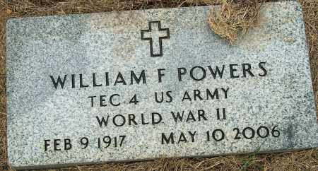 POWERS, WILLIAM F - Mississippi County, Arkansas | WILLIAM F POWERS - Arkansas Gravestone Photos