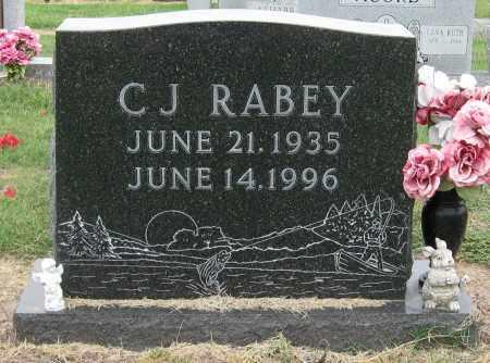 RABEY, C J - Mississippi County, Arkansas   C J RABEY - Arkansas Gravestone Photos