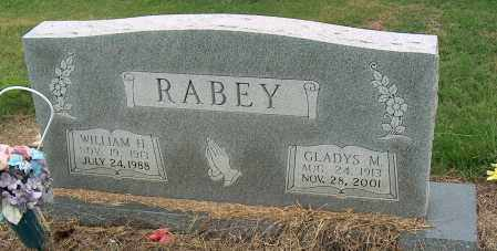 RABEY, WILLIAM H - Mississippi County, Arkansas | WILLIAM H RABEY - Arkansas Gravestone Photos