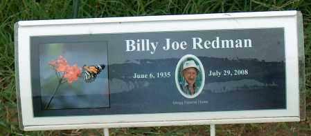 REDMAN, BILLY JOE - Mississippi County, Arkansas   BILLY JOE REDMAN - Arkansas Gravestone Photos