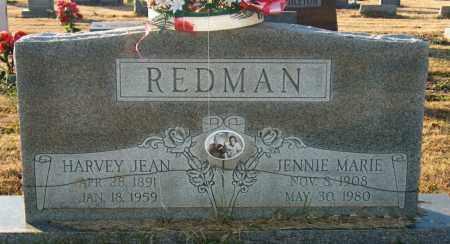 REDMAN, HARVEY JEAN - Mississippi County, Arkansas | HARVEY JEAN REDMAN - Arkansas Gravestone Photos