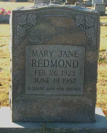 REDMOND, MARY JANE - Mississippi County, Arkansas | MARY JANE REDMOND - Arkansas Gravestone Photos