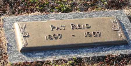 REID, PAT - Mississippi County, Arkansas   PAT REID - Arkansas Gravestone Photos