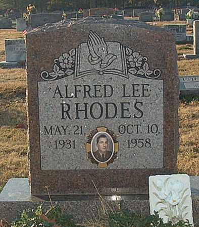 RHODES, ALFRED LEE - Mississippi County, Arkansas | ALFRED LEE RHODES - Arkansas Gravestone Photos