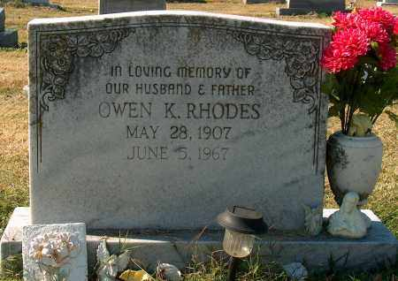 RHODES, OWEN K - Mississippi County, Arkansas | OWEN K RHODES - Arkansas Gravestone Photos