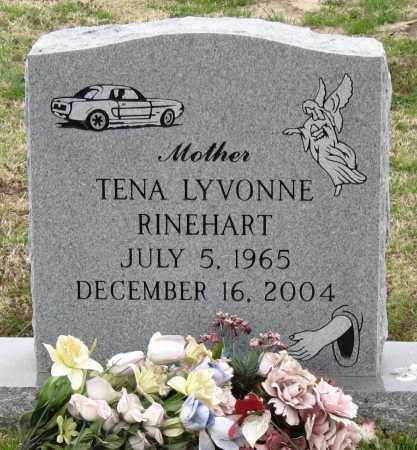 TOMBLIN RINEHART, TENA LYVONNE - Mississippi County, Arkansas   TENA LYVONNE TOMBLIN RINEHART - Arkansas Gravestone Photos