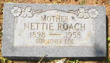 ROACH, NETTIE - Mississippi County, Arkansas   NETTIE ROACH - Arkansas Gravestone Photos
