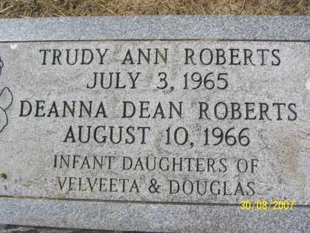 ROBERTS, TRUDY ANN - Mississippi County, Arkansas | TRUDY ANN ROBERTS - Arkansas Gravestone Photos