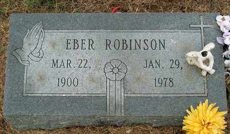 ROBINSON, EBER - Mississippi County, Arkansas | EBER ROBINSON - Arkansas Gravestone Photos
