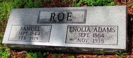 ADAMS ROE, ENOLIA - Mississippi County, Arkansas | ENOLIA ADAMS ROE - Arkansas Gravestone Photos