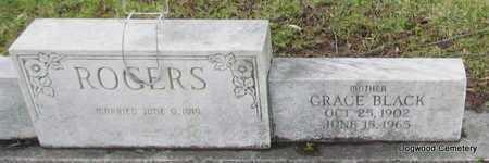 BLACK ROGERS, GRACE (CLOSE UP) - Mississippi County, Arkansas | GRACE (CLOSE UP) BLACK ROGERS - Arkansas Gravestone Photos