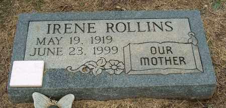 ROLLINS, IRENE - Mississippi County, Arkansas | IRENE ROLLINS - Arkansas Gravestone Photos