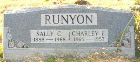 RUNYON, CHARLEY E - Mississippi County, Arkansas | CHARLEY E RUNYON - Arkansas Gravestone Photos