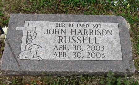 RUSSELL, JOHN HARRISON - Mississippi County, Arkansas   JOHN HARRISON RUSSELL - Arkansas Gravestone Photos