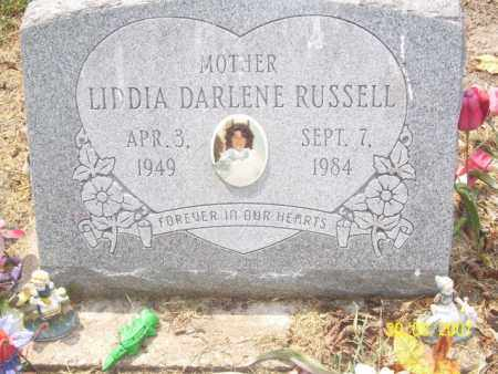 RUSSELL, LIDDIA DARLENE - Mississippi County, Arkansas   LIDDIA DARLENE RUSSELL - Arkansas Gravestone Photos
