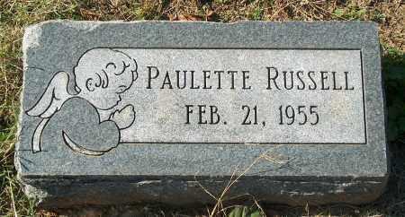 RUSSELL, PAULETTE - Mississippi County, Arkansas   PAULETTE RUSSELL - Arkansas Gravestone Photos