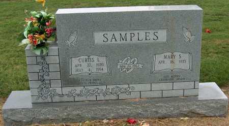 SAMPLES, CURTIS L - Mississippi County, Arkansas | CURTIS L SAMPLES - Arkansas Gravestone Photos