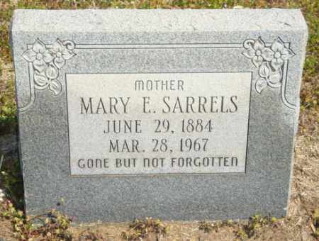 SARRELS, MARY E - Mississippi County, Arkansas | MARY E SARRELS - Arkansas Gravestone Photos