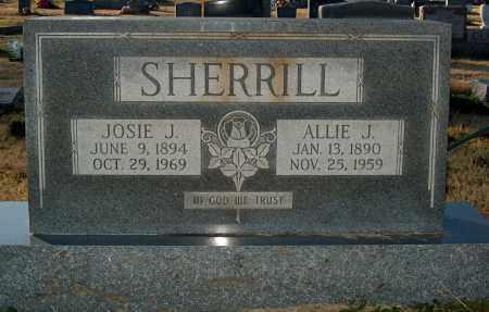 SHERRILL, ALLIE J - Mississippi County, Arkansas | ALLIE J SHERRILL - Arkansas Gravestone Photos