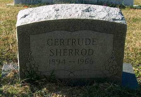 SHERROD, GERTRUDE - Mississippi County, Arkansas | GERTRUDE SHERROD - Arkansas Gravestone Photos