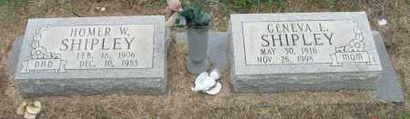 SHIPLEY, HOMER W - Mississippi County, Arkansas   HOMER W SHIPLEY - Arkansas Gravestone Photos