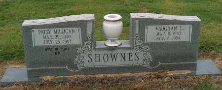 MILLIGAN SHOWNES, PATSY - Mississippi County, Arkansas | PATSY MILLIGAN SHOWNES - Arkansas Gravestone Photos