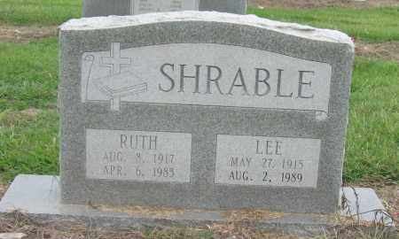 SHRABLE, LEE - Mississippi County, Arkansas | LEE SHRABLE - Arkansas Gravestone Photos