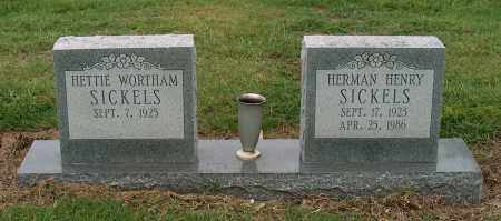 SICKELS, HERMAN HENRY - Mississippi County, Arkansas | HERMAN HENRY SICKELS - Arkansas Gravestone Photos