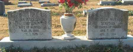 HARRELSON SIMPSON, CLARA - Mississippi County, Arkansas | CLARA HARRELSON SIMPSON - Arkansas Gravestone Photos