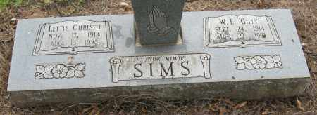 CHRISTIE SIMS, LETTIE - Mississippi County, Arkansas | LETTIE CHRISTIE SIMS - Arkansas Gravestone Photos