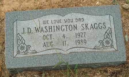 SKAGGS, J.D. WASHINGTON - Mississippi County, Arkansas | J.D. WASHINGTON SKAGGS - Arkansas Gravestone Photos
