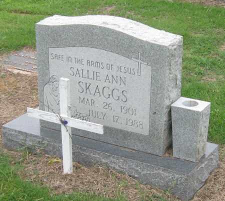 SKAGGS, SALLIE ANN - Mississippi County, Arkansas | SALLIE ANN SKAGGS - Arkansas Gravestone Photos