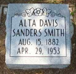SMITH, ALTA DAVIS - Mississippi County, Arkansas | ALTA DAVIS SMITH - Arkansas Gravestone Photos