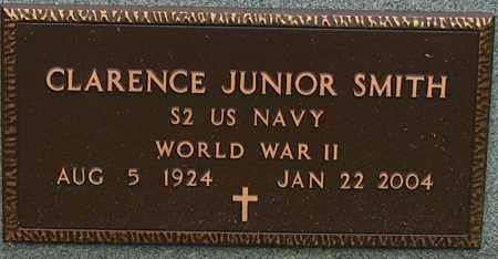 SMITH (VETERAN WWII), CLARENCE JUNIOR - Mississippi County, Arkansas   CLARENCE JUNIOR SMITH (VETERAN WWII) - Arkansas Gravestone Photos
