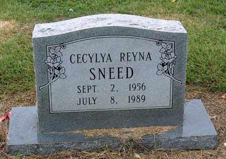 SNEED, CECYLYA REYNA - Mississippi County, Arkansas | CECYLYA REYNA SNEED - Arkansas Gravestone Photos