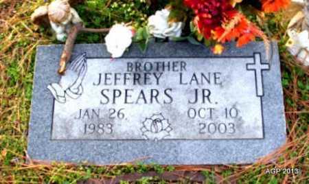 SPEARS, JR, JEFFREY LANE - Mississippi County, Arkansas | JEFFREY LANE SPEARS, JR - Arkansas Gravestone Photos