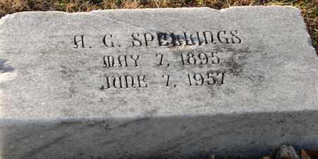 SPELLINGS, A. C. - Mississippi County, Arkansas | A. C. SPELLINGS - Arkansas Gravestone Photos