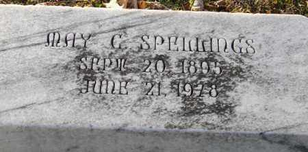 SPELLINGS, MAY C. - Mississippi County, Arkansas   MAY C. SPELLINGS - Arkansas Gravestone Photos