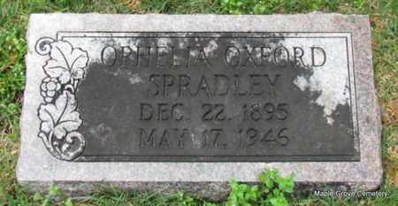 OXFORD SPRADLEY, OPHELIA - Mississippi County, Arkansas   OPHELIA OXFORD SPRADLEY - Arkansas Gravestone Photos