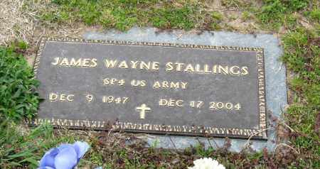 STALLINGS  (VETERAN), JAMES WAYNE - Mississippi County, Arkansas | JAMES WAYNE STALLINGS  (VETERAN) - Arkansas Gravestone Photos