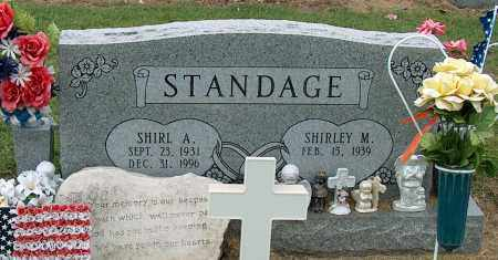 STANDAGE, SHIRL A - Mississippi County, Arkansas | SHIRL A STANDAGE - Arkansas Gravestone Photos