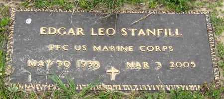 STANFILL (VETERAN), EDGAR LEO - Mississippi County, Arkansas | EDGAR LEO STANFILL (VETERAN) - Arkansas Gravestone Photos